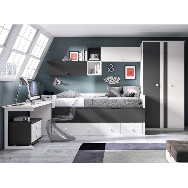 Dormitorios juveniles dormitorio juvenil moderno de dise o minimalista Dormitorio juvenil clasico