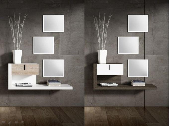 Recibidores Modernos : Recibidor Diseño 3 Espejos