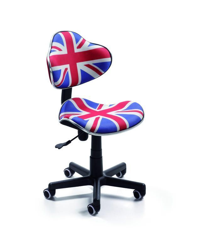 Sillas infantiles sillas escritorio bandera inglesa - Sillas infantiles de escritorio ...